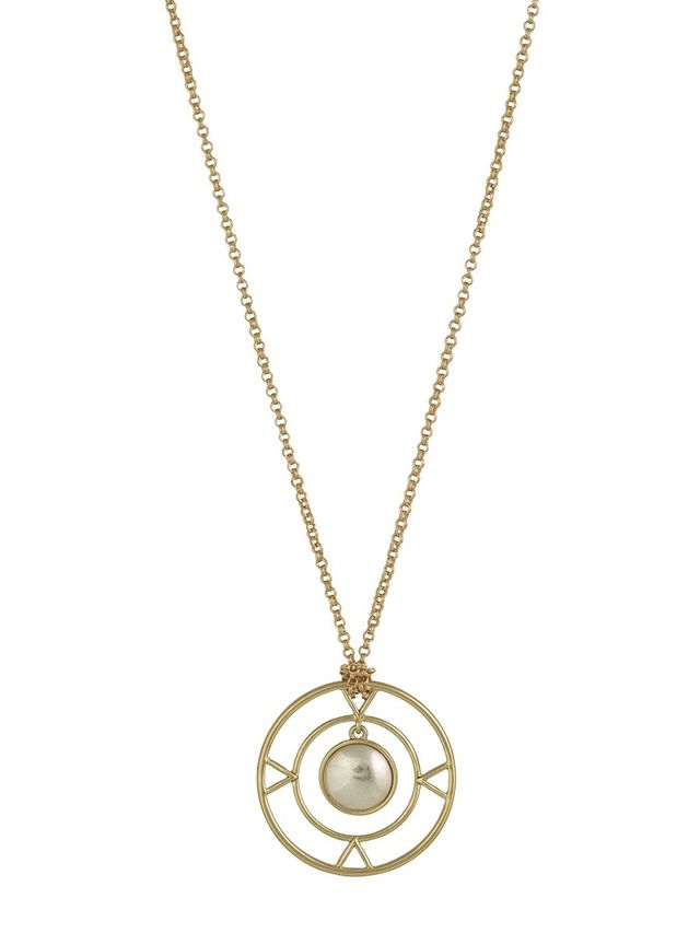 House of Harlow 1960 Four Elements Pendant Necklace
