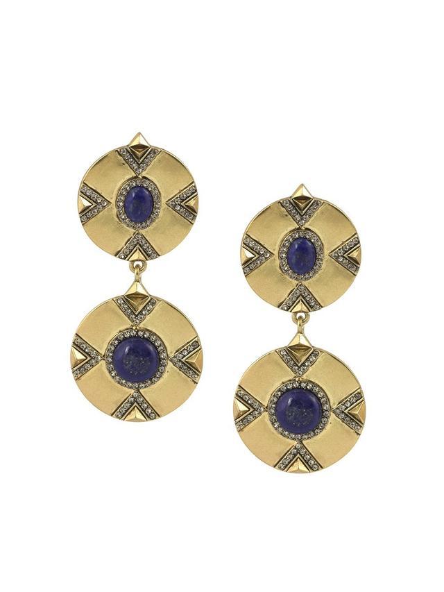 House of Harlow 1960 Dorelia Double Coin Earrings