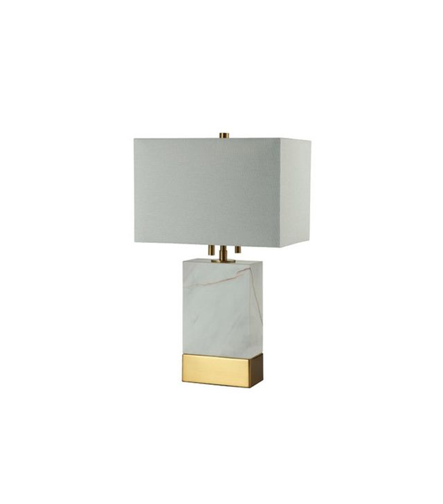 Decorators Lighting Rockport Table Lamp With Rectangle Shade