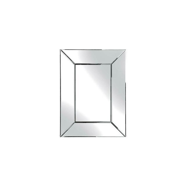 Laura Ashley Gatsby Small Rectangle Mirror in Plain