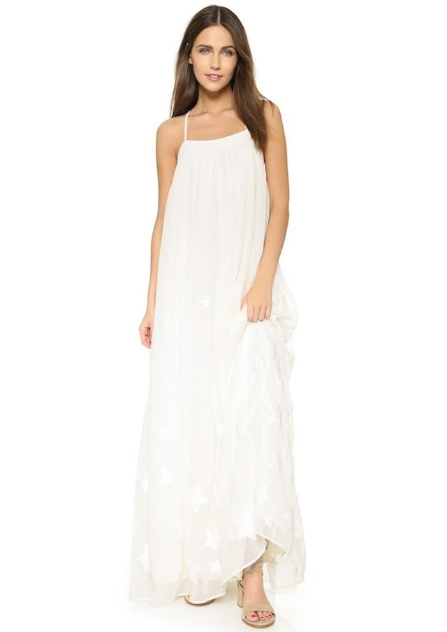 Mara Hoffman Star Embroidered Dress