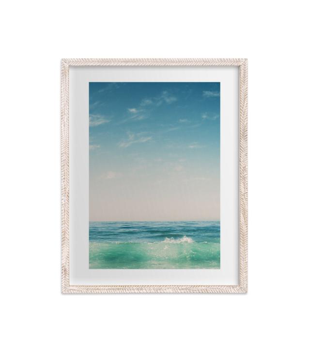 """Minted """"Malibu Surf And Sky II"""" by Kamala Nahas"""