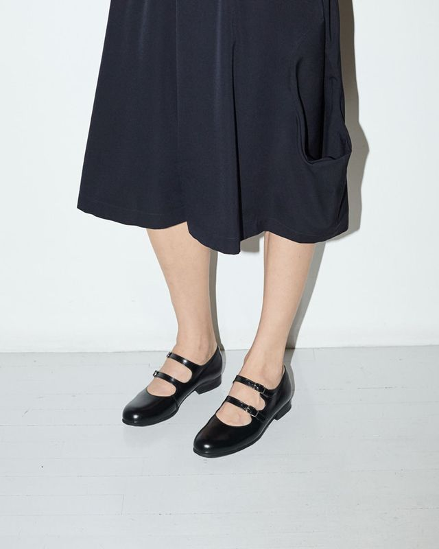Comme des Garçons Two Strap Mary Janes