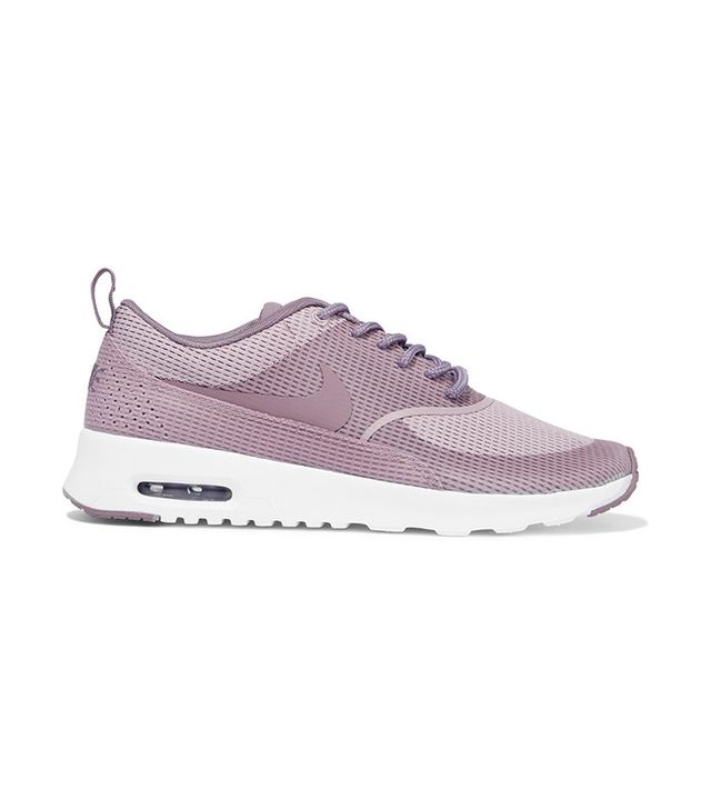 Air Max Thea Mesh And Leather Sneakers