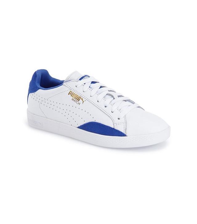 Puma Match Lo Leather Sneaker