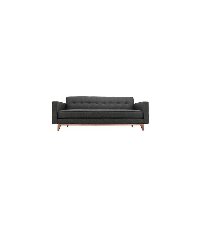 Clad Home Midcentury Modern Style Tufted Sofa