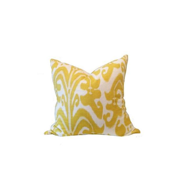 Kristy Lee Interiors Ikat Print Cushion
