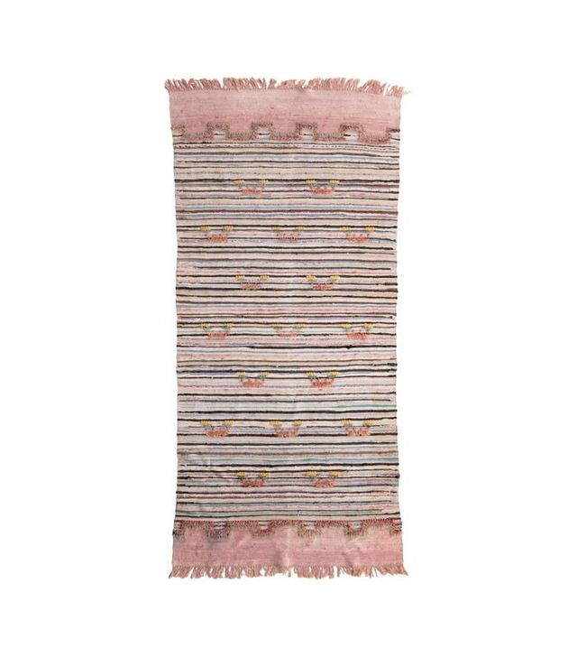 Vintage Handwoven Swedish Rug