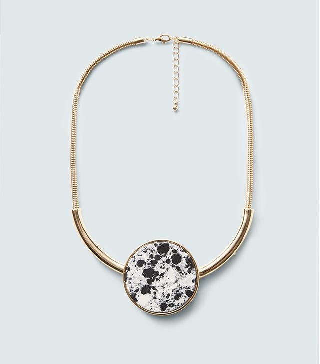 Mango Semiprecious Stone Necklace