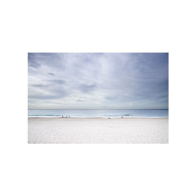 Aquabumps Beach Calm Print