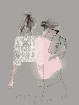The Prettiest Fashion Illustrators to Follow on Pinterest
