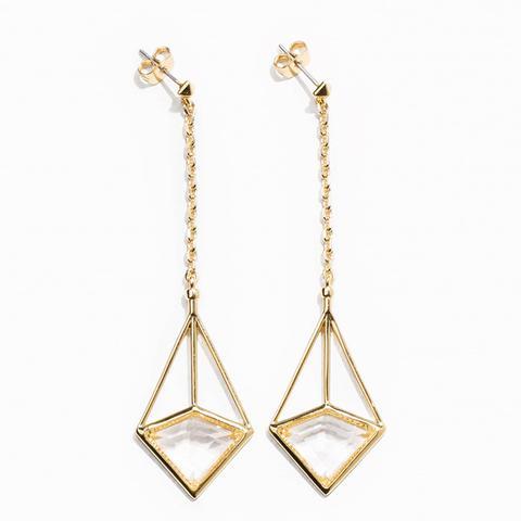 Prism Pendant Earrings