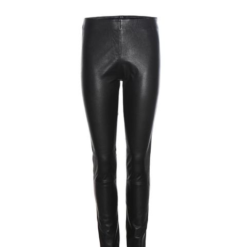 Elenasoo Slim Leather Trousers