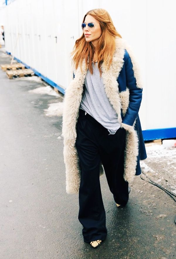 Give the 1970s a casual spin with extra-baggy flares
