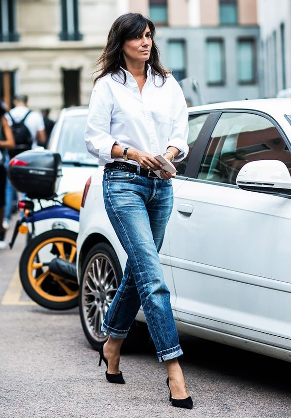 Add Sophistication to Relaxed Denim
