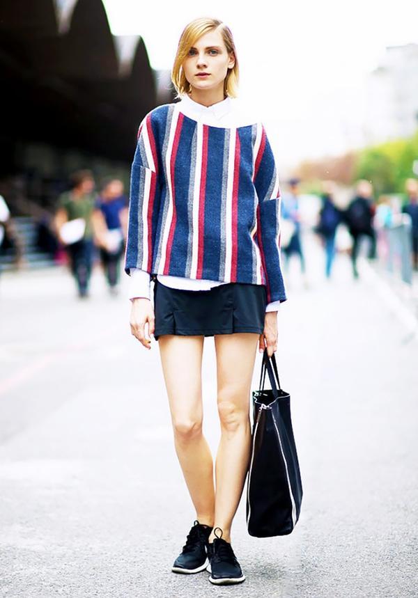 Wear It Under a Relaxed Sweater or Sweatshirt