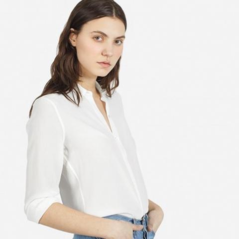 The Modern Silk Point Collar 78