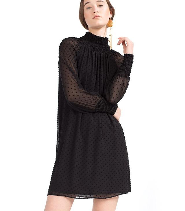 Zara Plumetis Dress