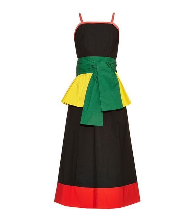 Isa Arfen Color-Block Dress