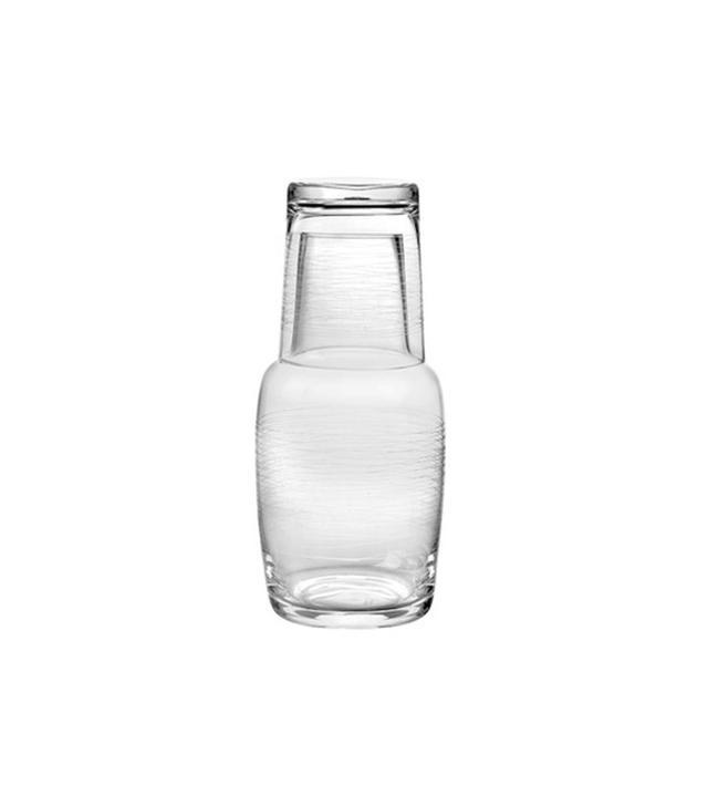 Qualia Glass 2 Piece Night Carafe Set