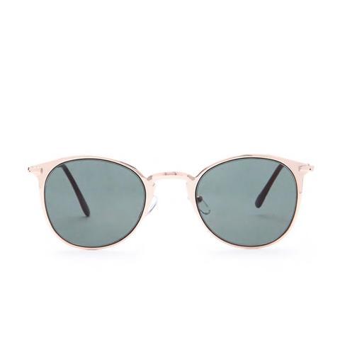 Mirrored-Frame Sunglasses
