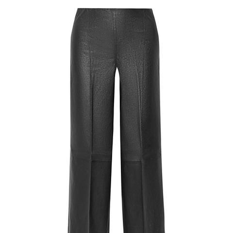 Drogada Stretch-Leather Culottes