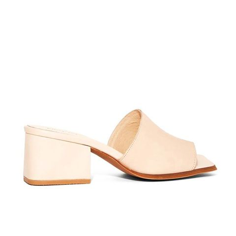 Maddie Leather Mule
