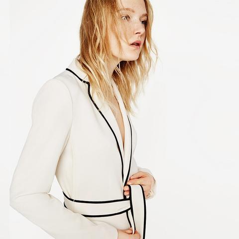 Belted Blazer Robe
