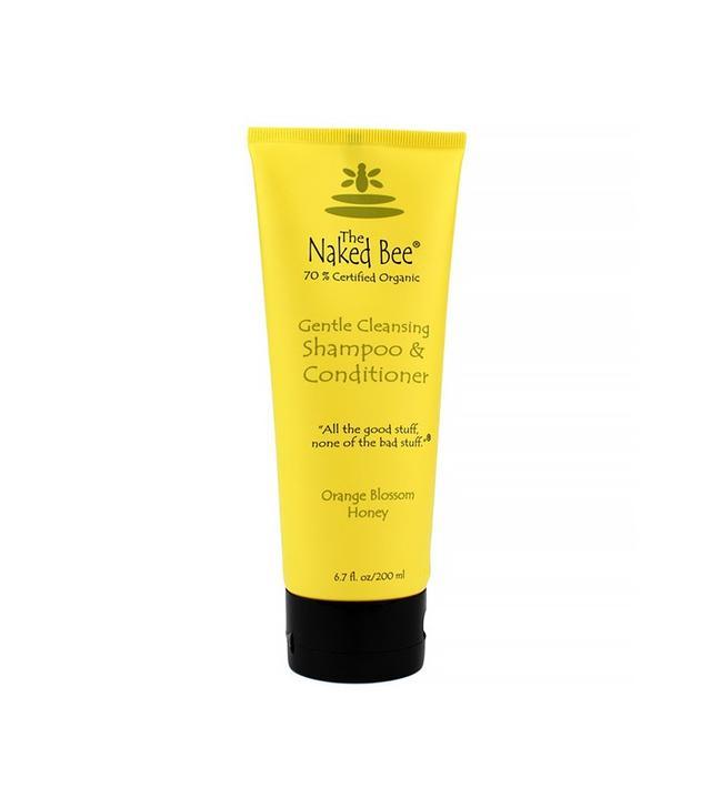 The Naked Bee Orange Blossom Honey Shampoo and Conditioner