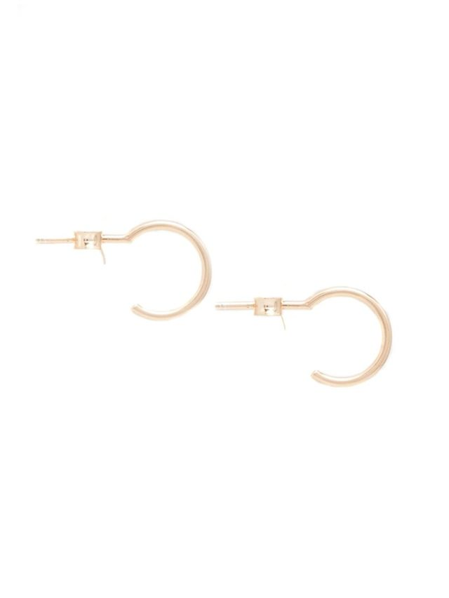 ASOS Rose Gold Sterling Silver Mini Hoop Earrings