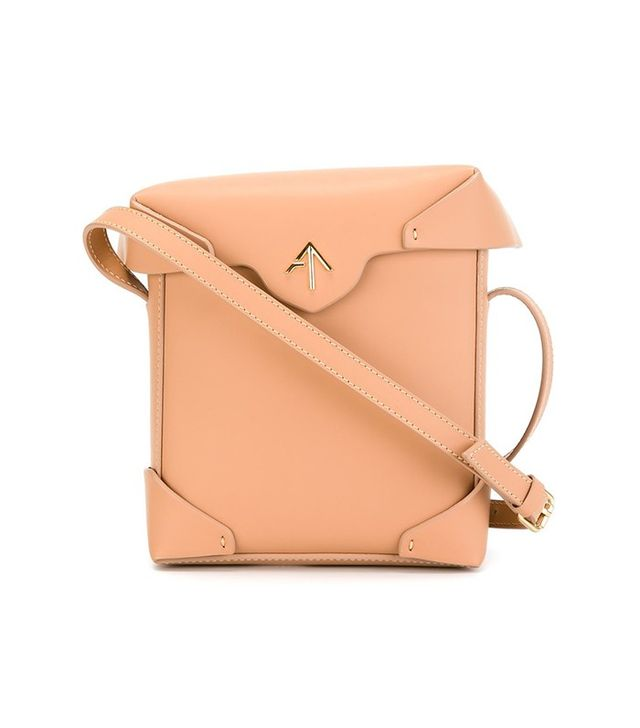 Manu Atelier Mini Pristine Cross Body Bag