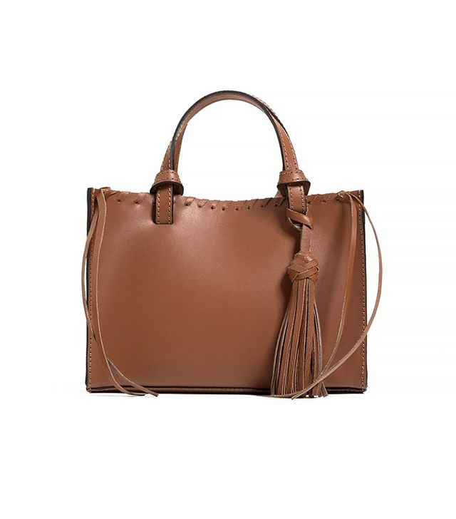 Zara Mini Leather Tote