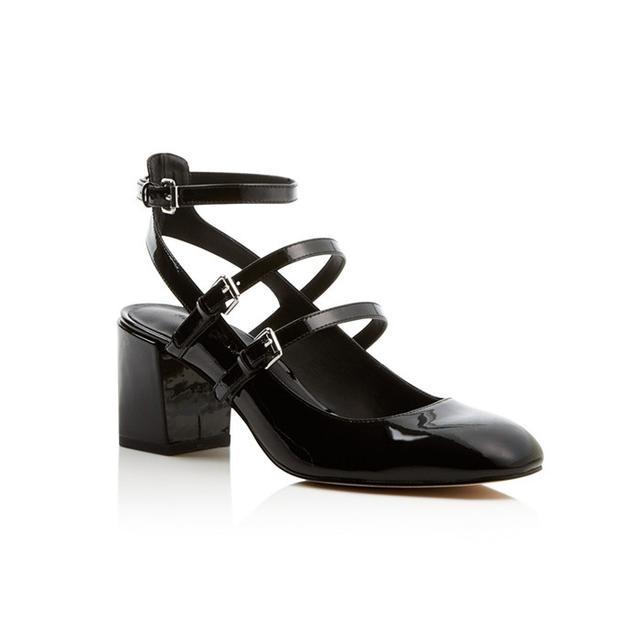 Rebecca Minkoff Brandy Strappy Mary Jane Mid Heel Pumps