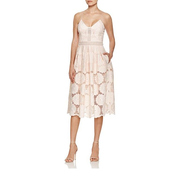 N Nicholas Blush Floral Dress