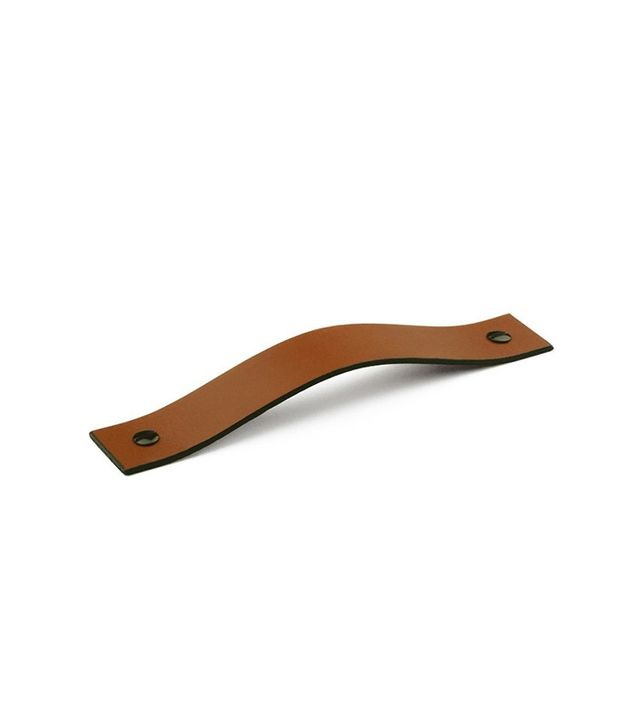 Made Measure Leather 01 Handles Saddle Tan