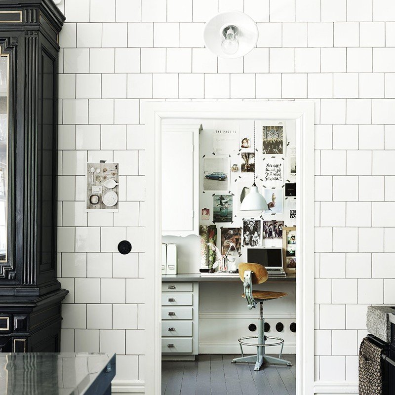 12 Times When Square Subway Tiles Made the Room | MyDomaine