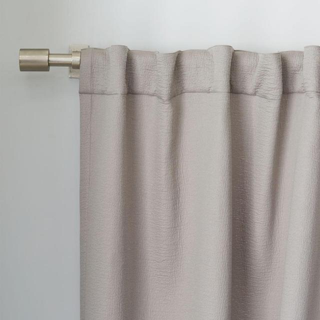 West Elm Brighton Matelasse Curtain - Platinum