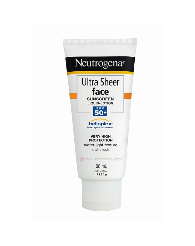 Neutrogena Ultra Sheer Face Sunscreen Lotion SPF 50+