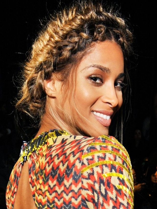 Hair Obsession: Ciara's Double Crown Braid | Byrdie UK