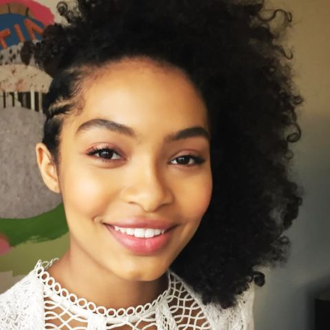 "How to Get Yara Shahidi's ""Foil Finish"" Eye for $20"