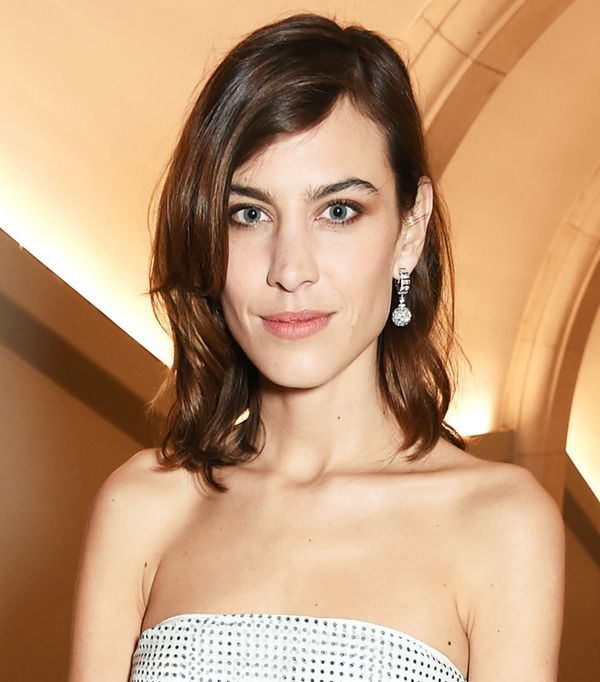 Alexa Chung Hair - Celebrity Beauty Looks