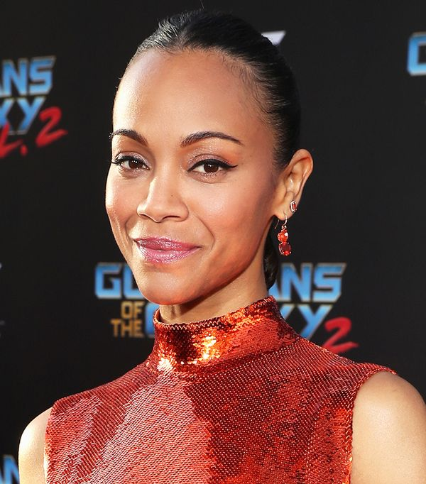 Zoe Saldana Makeup - Celebrity Beauty Looks