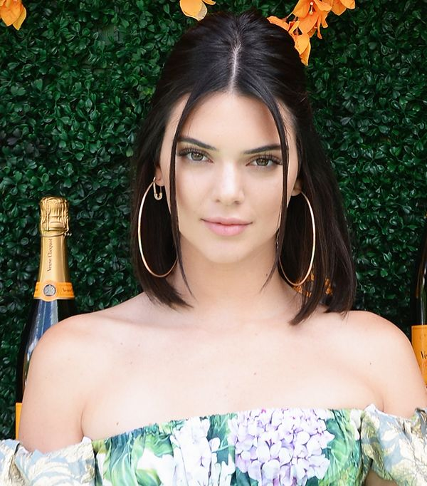 kendall jenner lob - celebrity beauty looks