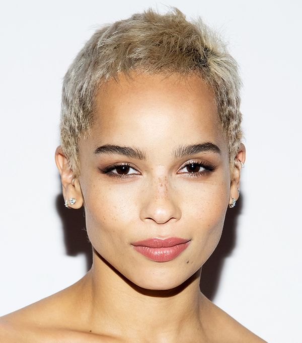 zoe kravitz hair - celebrity beauty looks