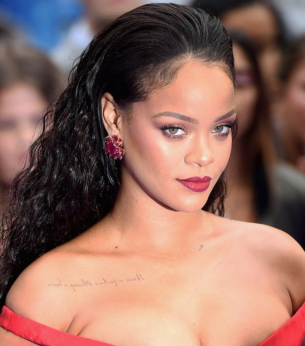 rihanna makeup - celebrity beauty looks
