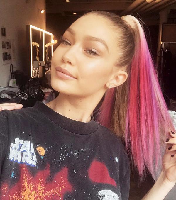 gigi hadid hair - celebrity beauty looks