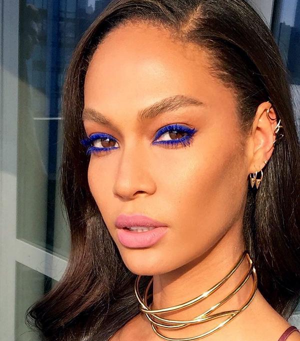 joan smalls makeup - celebrity beauty looks
