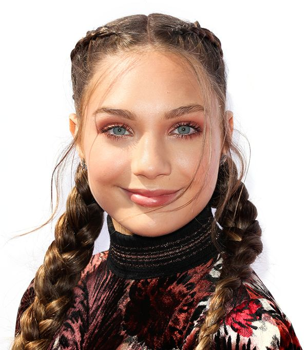 maddie ziegler hair - celebrity beauty looks