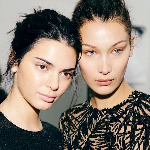 Kendall and Bella Wore This Foundation With a Cult Following