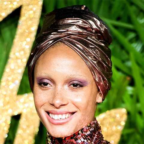 This Is the Exact Eye Shadow Adwoa Aboah Wore to The Fashion Awards